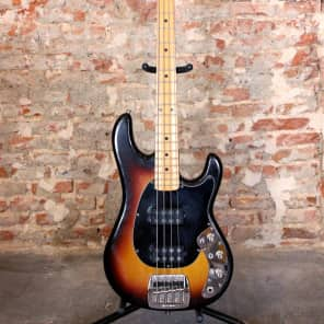 Music Man Sabre Bass Sunburst (1979) for sale