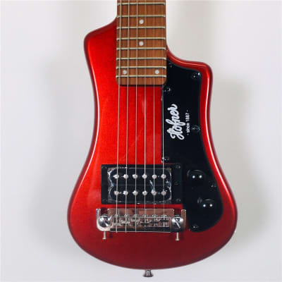 Hofner HCT-SH Shorty Electric Travel, Red, B-Stock for sale