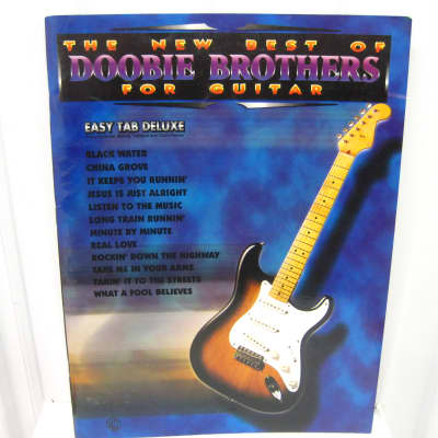 Doobie Brothers The New Best of for Guitar Sheet Music Song Book Songbook Tab Tablature