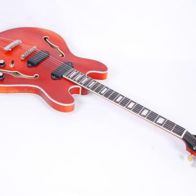 Eastman T64/V-T Antique Varnish with Trapeze Bridge #50045 @ LA Guitar Sales
