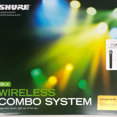 Shure BLX288/PG58-M15 Dual Handheld Mic Wireless System