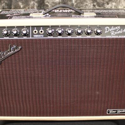 Fender Tonemaster Deluxe Reverb Blonde 100 Watt Celestion Creamback Guitar Amplifier for sale