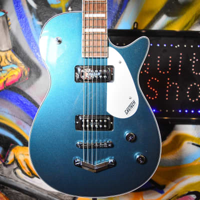 Gretsch G5260 Electromatic Jet Baritone with V-Stoptail Guitar Jade Grey Metallic for sale