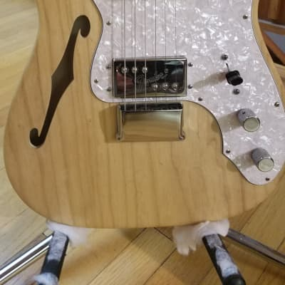 2011 Fender American Vintage '72 Telecaster Thinline w OHSC  Natural for sale