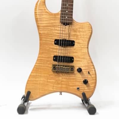 1981 Veillette Citron Shark Baritone Guitar - RARE - #426 - AS IS for sale