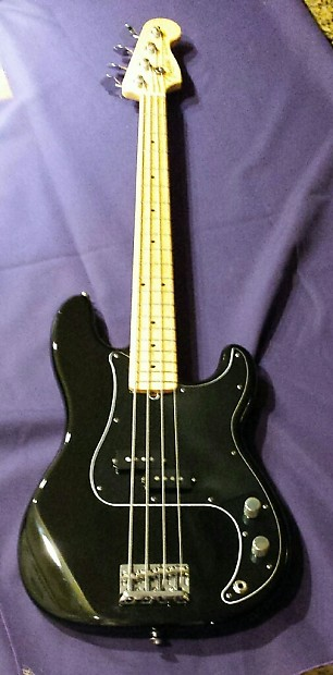 Fender American Standard Precision Bass 2008 Black Reverb