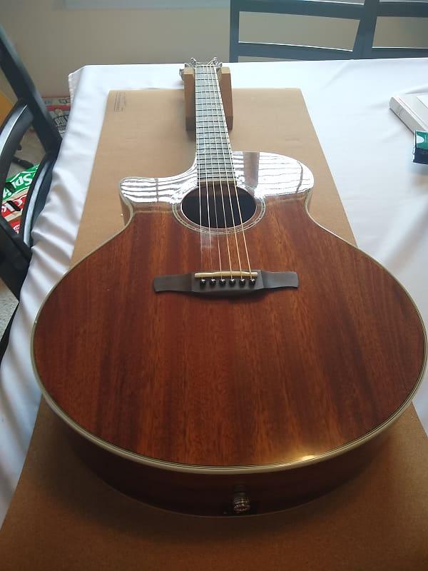 ibanez ae245l nt solid mahogany top acoustic electric guitar reverb. Black Bedroom Furniture Sets. Home Design Ideas