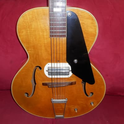 Epiphone Century Archtop W/ Gibson P-13 Speed Bump Pick Up 1942 Natural Blonde