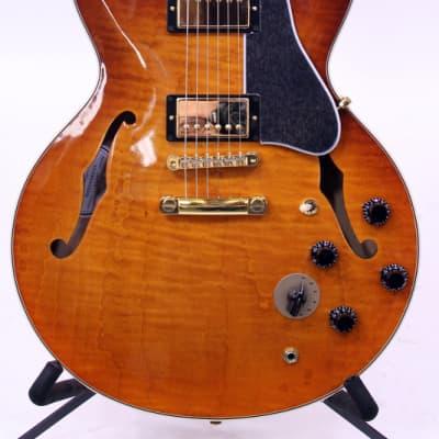Gibson 2016 ES-345 Premier Figured Semi-Hollowbody Electric Guitar w/ Hardshell Case