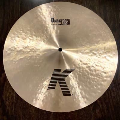 "Zildjian 16"" K Series Dark Thin Crash Cymbal (NEW Open Box Item)"