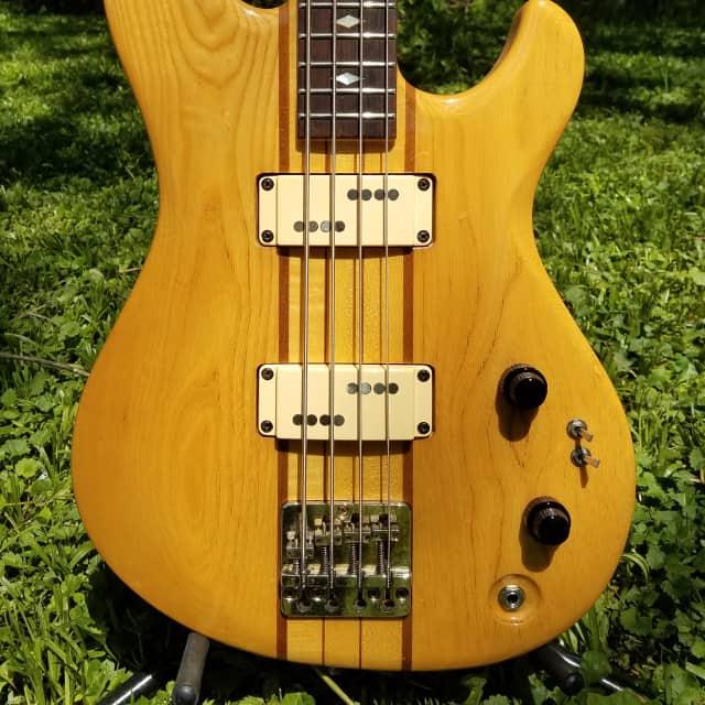 Aria Pro II - TSB-650 Thor Sound Medium Scale Vintage Japanese Bass Guitar Matsumoko image