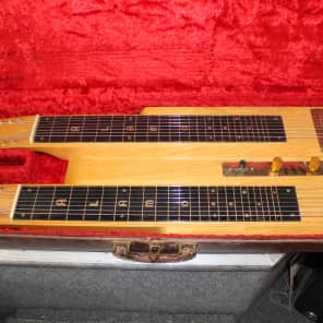 Alamo Double Neck 8-String Steel Guitar for sale