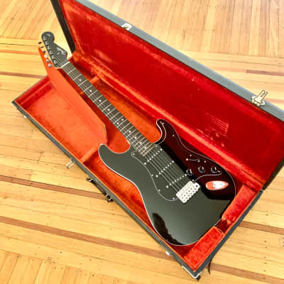 Fender Aerodyne Stratocaster c 2000's Black mij japan strat for sale