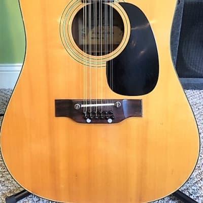 Kimbara (Matsumoku) Vintage MIJ 12-String Acoustic for sale