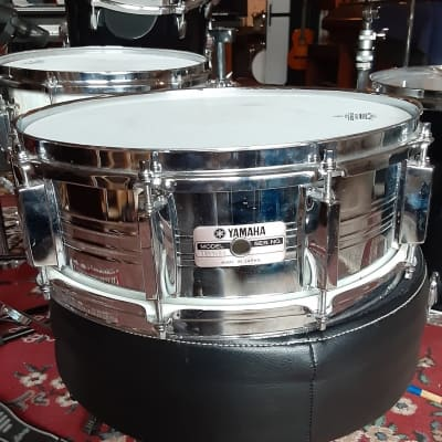 "Yamaha SD-650MG 5.5x14"" 10-Lug Steel Snare Drum"