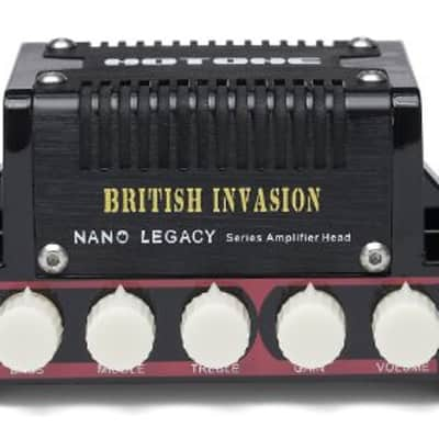 Hotone Nano Legacy British Invasion 5-Watt Compact Guitar Amp Head with 3-Band EQ