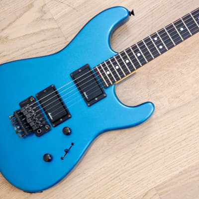 1988 Charvel by Jackson Model 3A Vintage Guitar Electric Blue HH Japan for sale