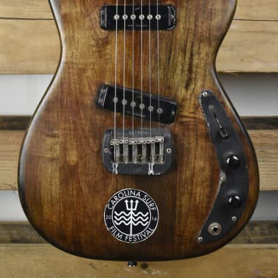 1982 G&L SC-2 Refinished Brown Vintage USA made  Free Shipping for sale