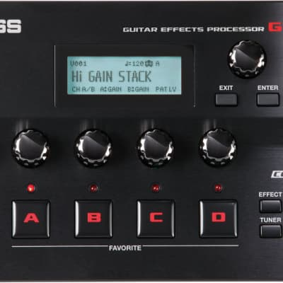 BOSS GT-001 Desktop Guitar Multi Effects Processor Audio Interface for sale