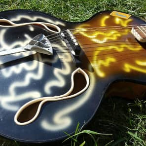 Wandre BB Model 1960 Swirl Hand Painted Finish for sale