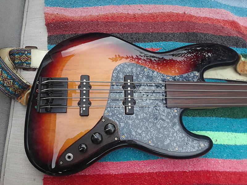 fender warmoth custom fretless precision bass w upgraded reverb. Black Bedroom Furniture Sets. Home Design Ideas