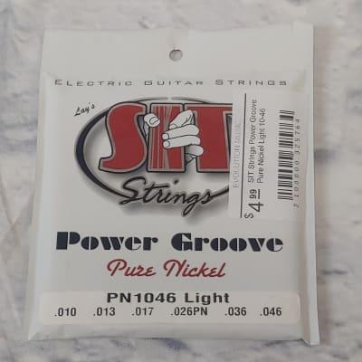 SIT Strings Power Groove Pure Nickel Light 10-46