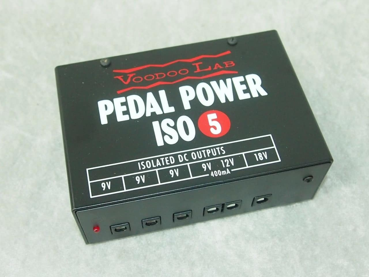 new voodoo lab pedal power iso 5 pedal power supply reverb. Black Bedroom Furniture Sets. Home Design Ideas