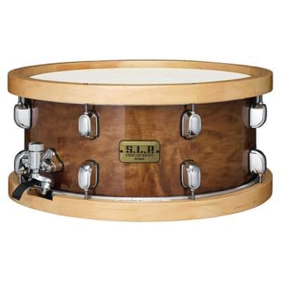 "Tama LMP1465FSEN 6.5x14"" S.L.P. Series Maple Snare Drum w/ Wood Hoops"