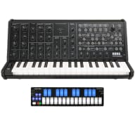 Korg MS-20 Mini Analog Synth Keyboard + Keith McMillen QuNexus Combo