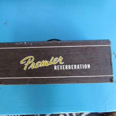 Premier 90 Reverberation Unit Premier Tube Reverb Unit With Footswitch Needs Repair Still Cool