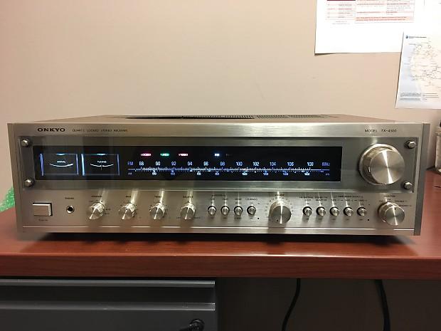 Onkyo TX-4500 1970's Silver Face | Black Swamp Electronics