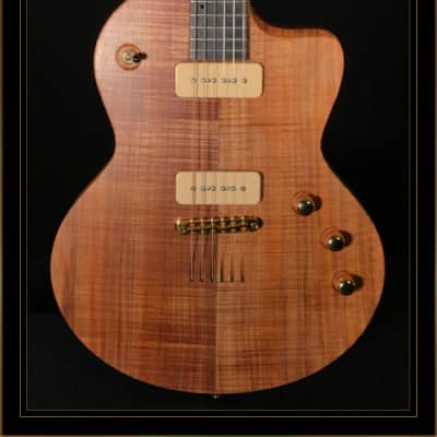 Lowden GL-10C with P-90s in Tasmanian Blackwood, Satin Natural for sale