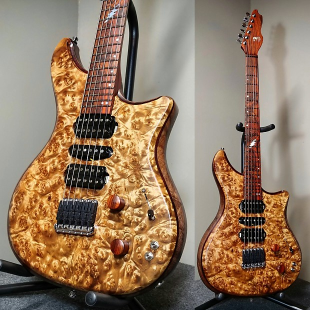 barlow guitars falcon 2017 burma lindera reverb