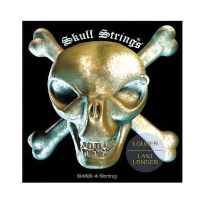Skull Strings BASS 45-110 cuerdas para bajo 4 cuerdas