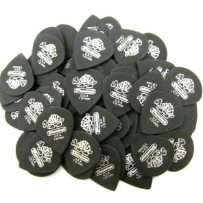 Dunlop Tortex Pitch Black Jazz Guitar Picks - 1.0mm - 72 Pack