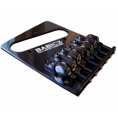 Babicz Full Contact Hardware Tele Bridge, Black