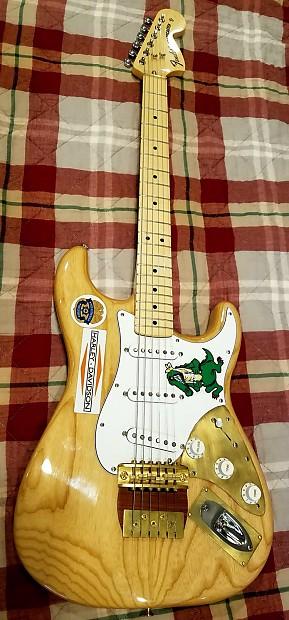 Fender Jerry Garcia Aligator Stratocaster Replica Natural Reverb