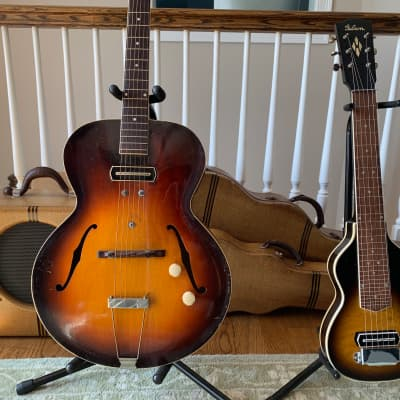 1940 Gibson ES-150 Sunburst, EH-150 Lap Steel and EH-150 Amp - Charlie Christian Museum! for sale