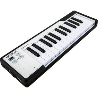 Arturia MicroLab Compact USB-MIDI Controller (Black)