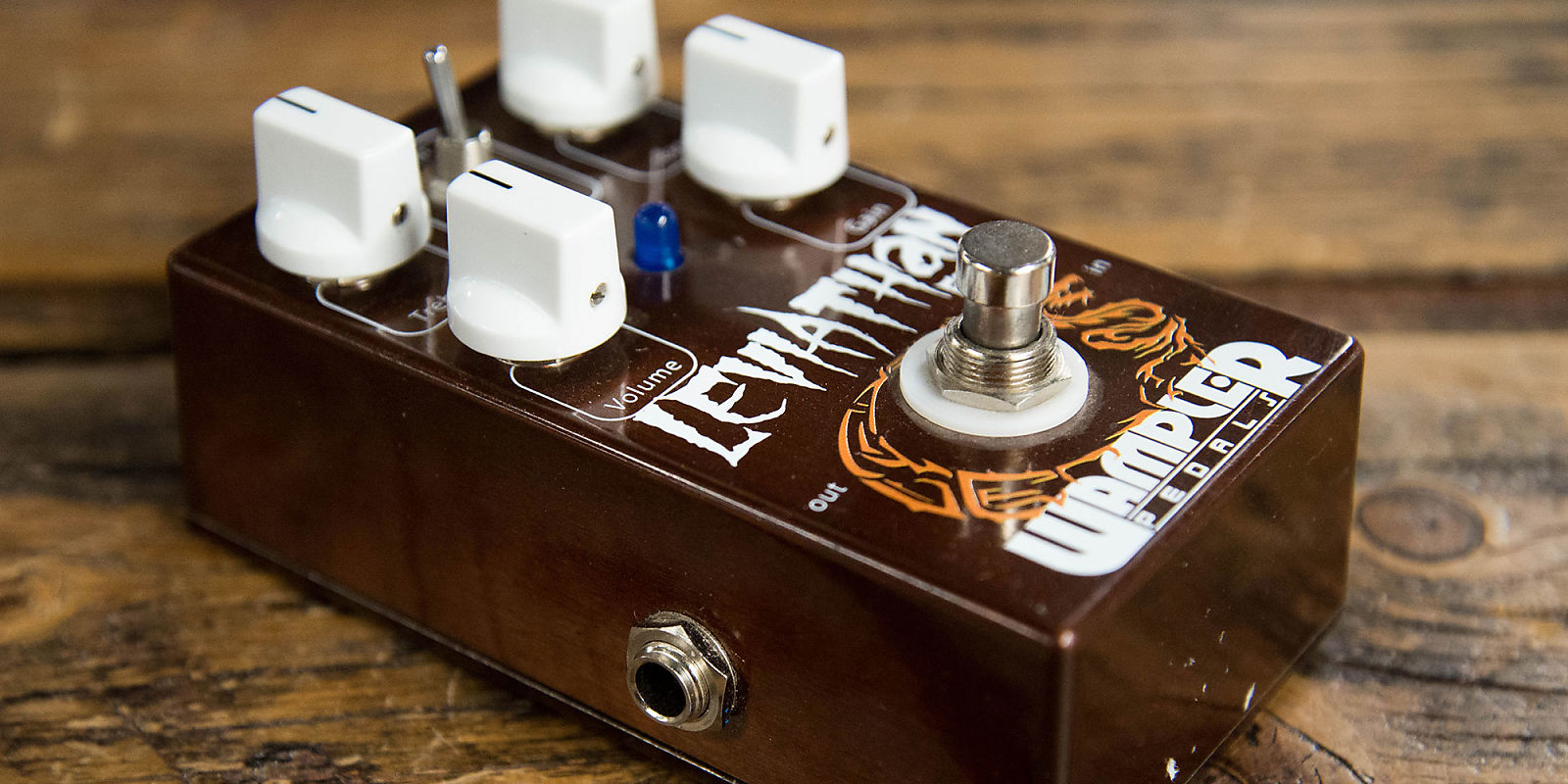 Wampler leviathan fuzz reverb for Motor city guitar waterford