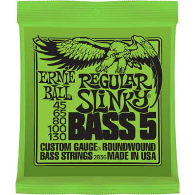 Ernie Ball P02836 Regular Slinky 5-String Electric Bass Strings