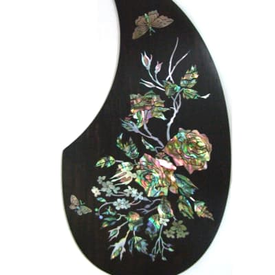 Guitar Part - Rosewood Pickguard w/ Mop Inlay (673) for sale