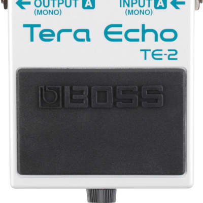 Open Box Boss TE-2 Tera Echo Multi-Dimensional Processing Pedal; Excellent Condition