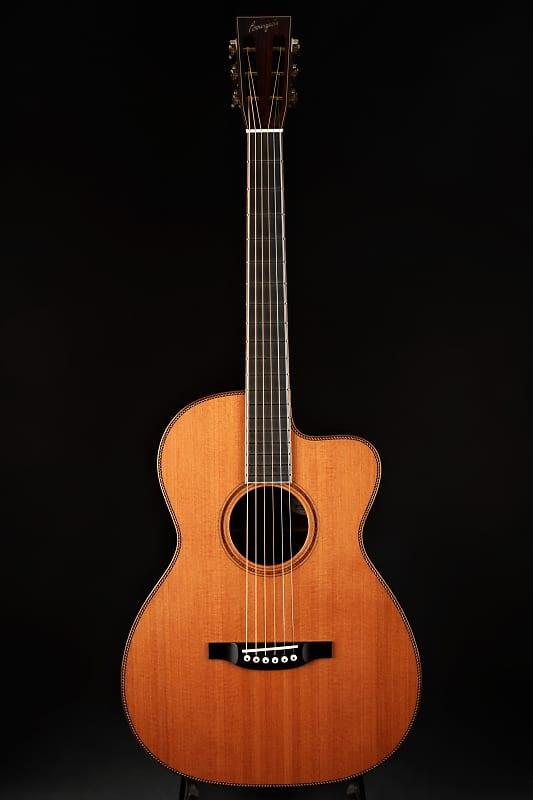 Bourgeois OMSC Fingerstyle Custom - Redwood & Master Grade Cocobolo (2017)  LR Baggs Lyric