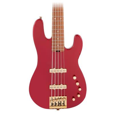 Charvel Pro-Mod San Dimas JJ V Candy Apple Red Electric Bass
