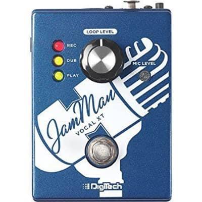 Digitech JMVXT JamMan Vocal XT Vocal Looper Effects Pedal Jam Man w Power Suppl