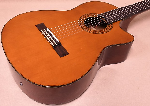 used fender cg 25sce acoustic electric nylon classical guitar reverb. Black Bedroom Furniture Sets. Home Design Ideas
