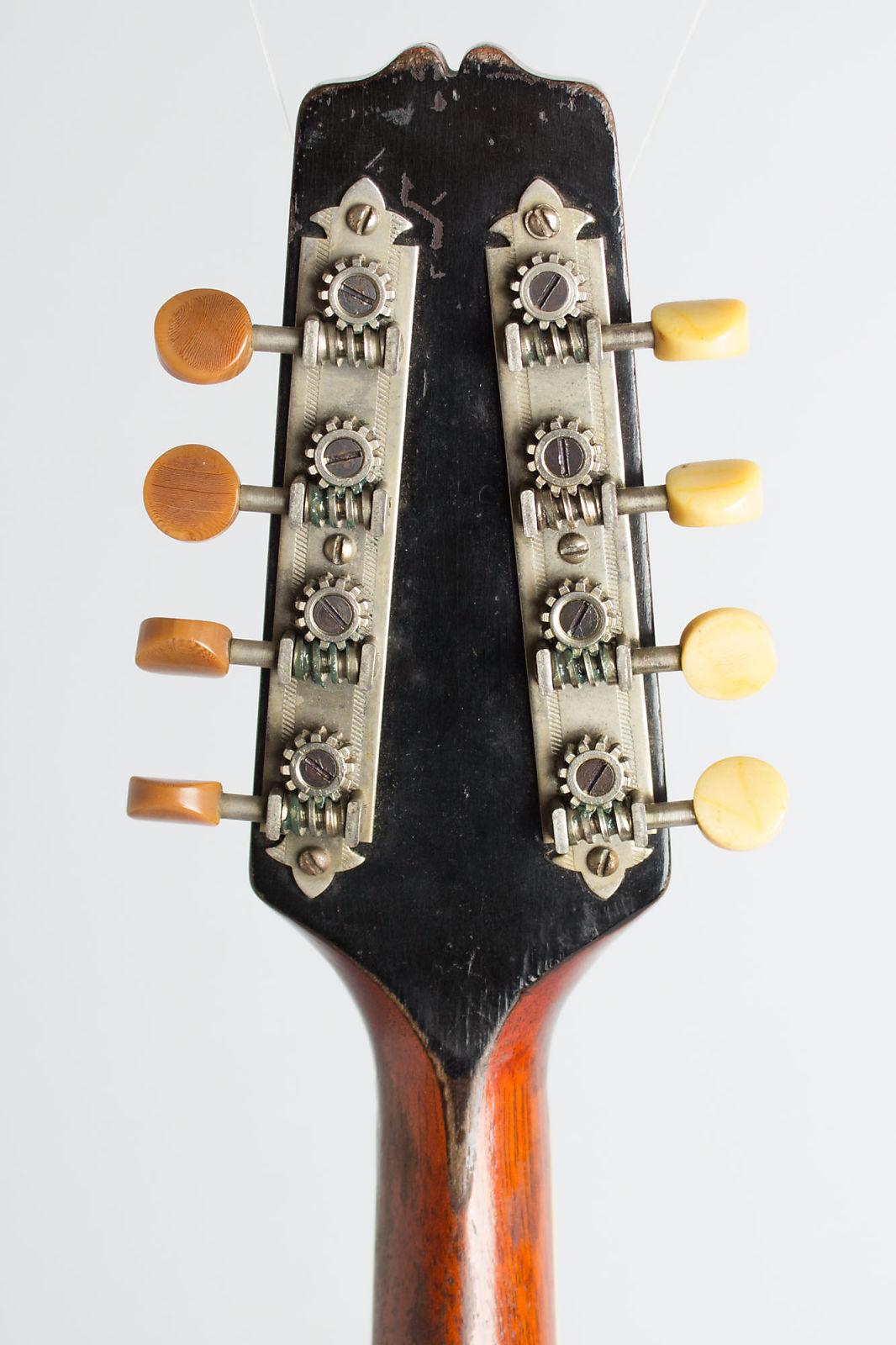 Gibson  Model A-4 Snakehead Carved Top Mandolin (1924), ser. #78315, original black hard shell case.