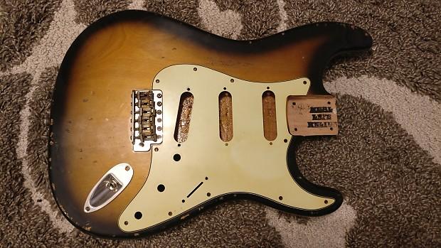 Relic Stratocaster Body