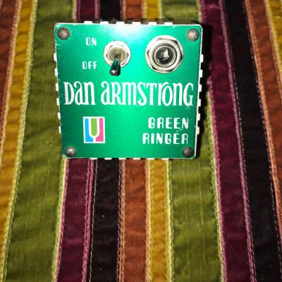 Dan Armstrong Original green ringer octavia ring modulator  Green for sale